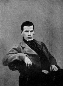 Photo de Léon Tolstoï à l'âge de 20 ans